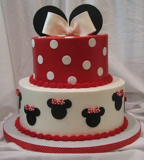 Great Minnie Mouse Birthday Cake