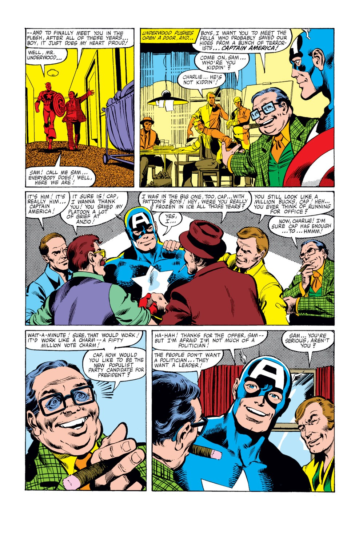 Captain America (1968) Issue #250 #165 - English 5
