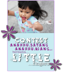 ANAKKU SAYANG, ANAKKU RIANG with LITTLE FINGERS
