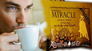 KOPI MIRACLE - COFFEE CINTA FORMULA OBAT PERKASA PRIA
