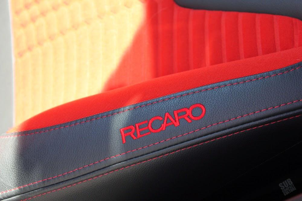 Ford Fiesta ST Recaro Seat