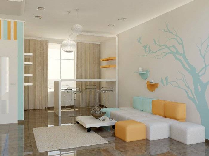 cute interior design by maria yasko kerala home design
