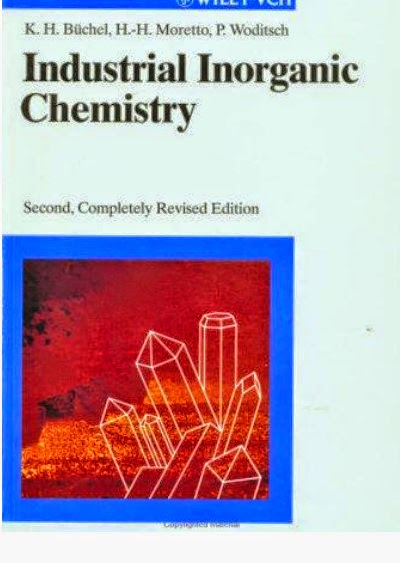 INDUSTRIAL INORGANIC CHEMISTRY Second-Completely  Revised Edition-Free chemistry book