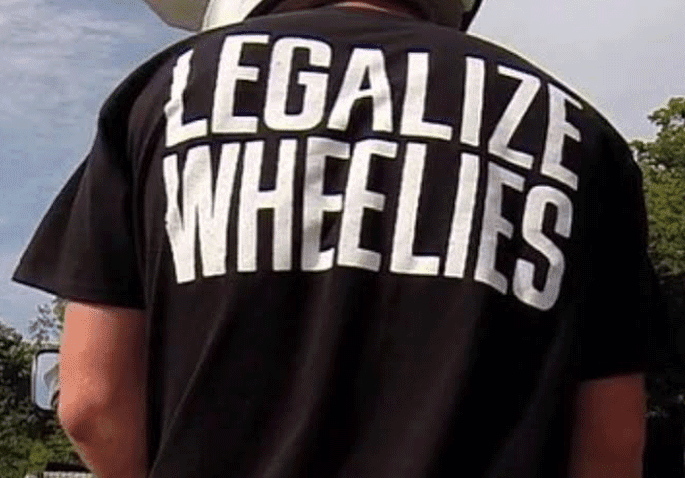 Legalize Wheelis shirt