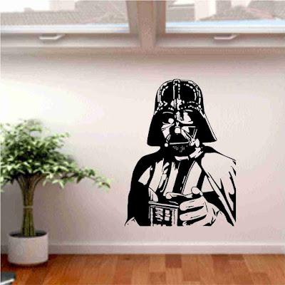 Decora la pared con vinilos Star Wars