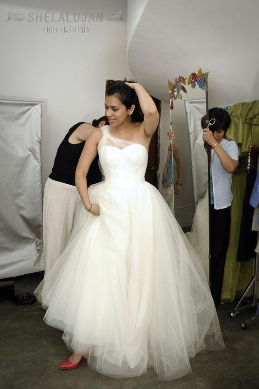 prueba de vestido de noviacatterina suárez | fotógrafía de bodas