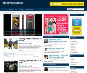 Expedia WordPress Theme