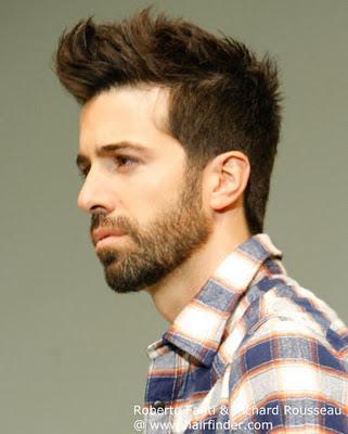 Charming modernen urbanen männlichen Frisuren 2012