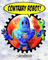 Visit the Larsen's New Contrary Robot Store and Gallery