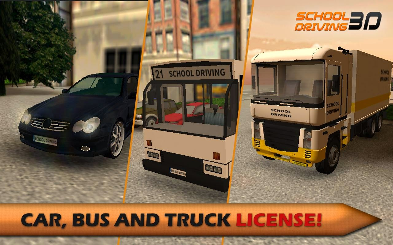 School Driving 3D v1.2.0 [Mod XP/Unlocked/Ad-Free] APK
