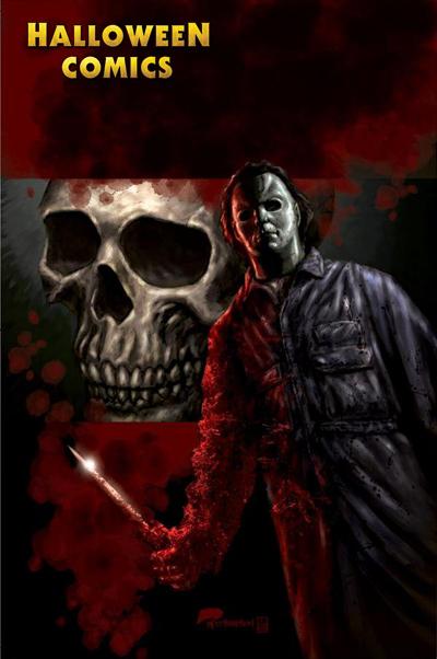 Halloween Comic... Jason Vs Michael Myers Comic
