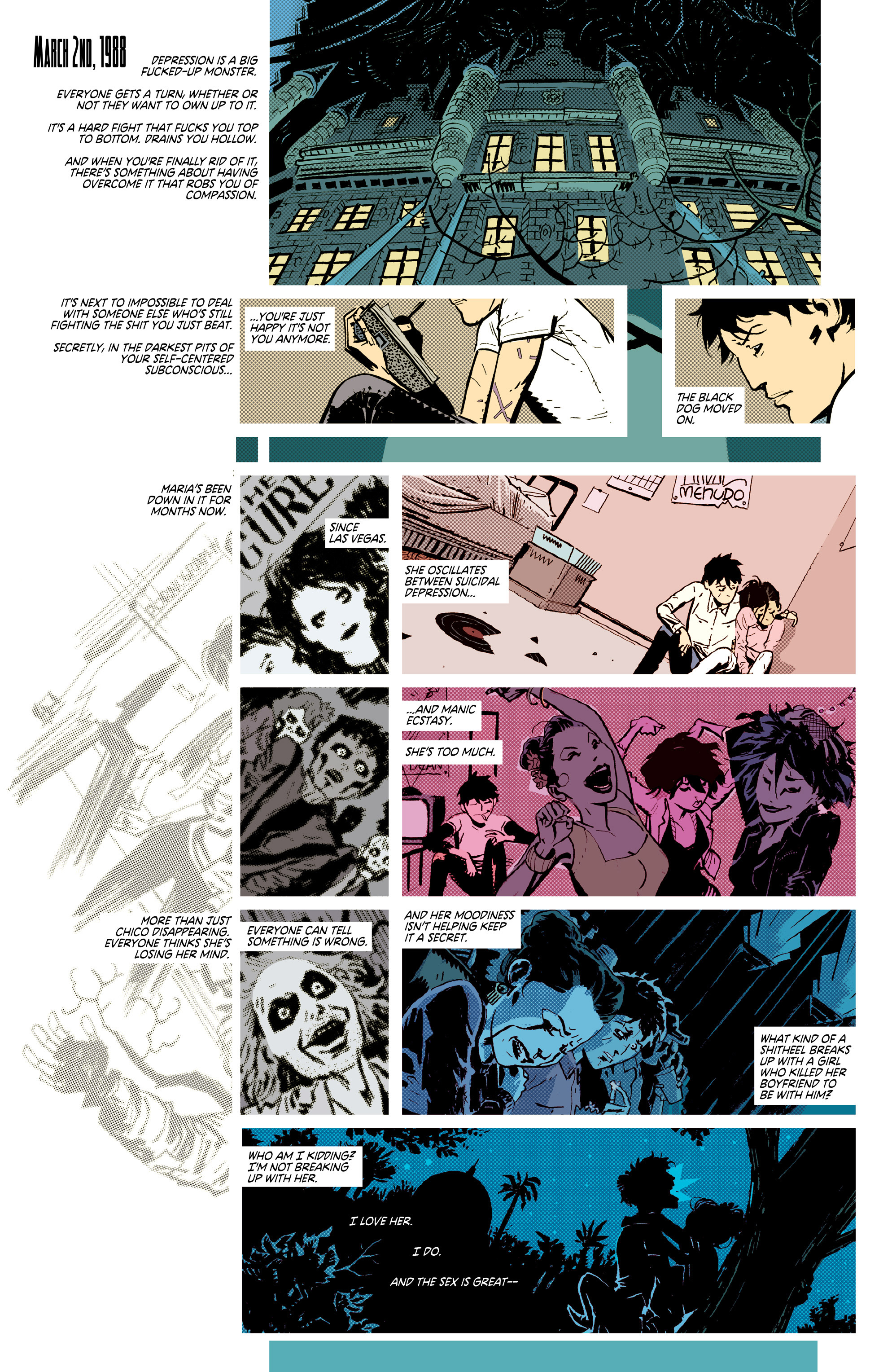 Read online Deadly Class comic -  Issue #7 - 7