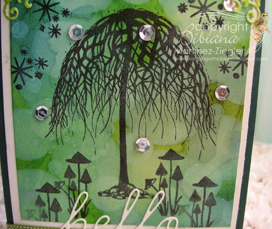 bokeh lavinia deatil view stamp tree