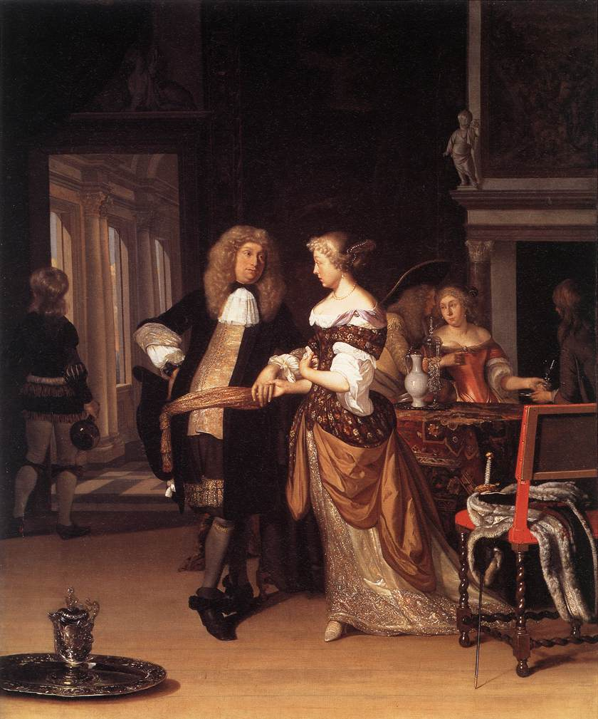 17th Century courtship in Western Europe.