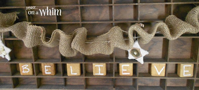 Building Block Letters | Denise on a Whim