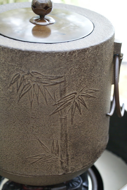 bouilloire japonaise en fonte