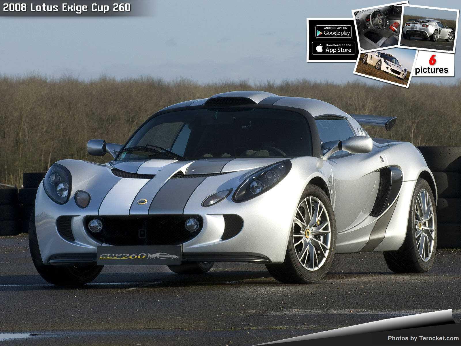 Hình ảnh siêu xe Lotus Exige Cup 260 2008 & nội ngoại thất