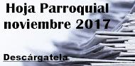 Hoja Parroquial noviembre 2017
