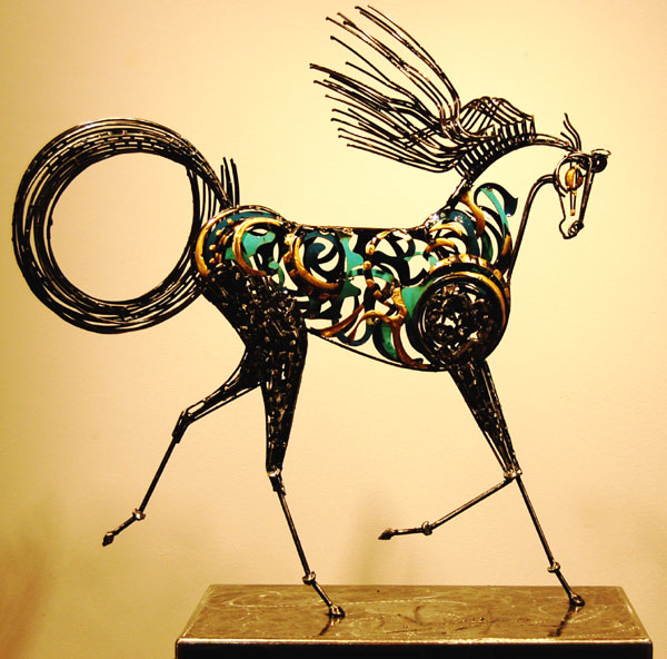 Floril ge loreto verrochia sculpteur italie for Art contemporain sculpture