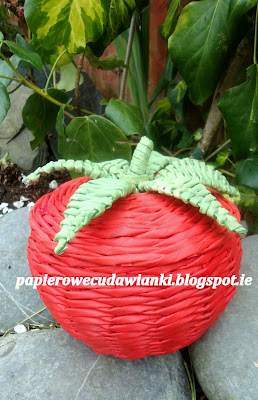 wicker paper basket