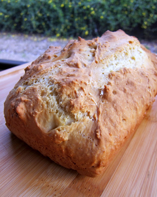 Irish Soda Bread - 4 simple ingredients! Great for your St. Patrick's Day dinner.