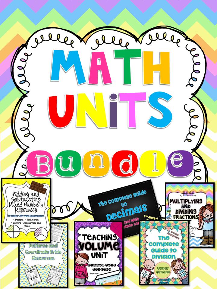 http://www.teacherspayteachers.com/Product/Common-Core-Math-Units-Bundle-5th-Grade-1365636