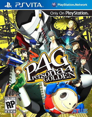 Persona 4 Golden US Box Art