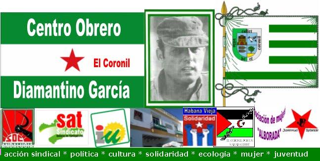 """CENTRO OBRERO """"Diamantino García"""""""