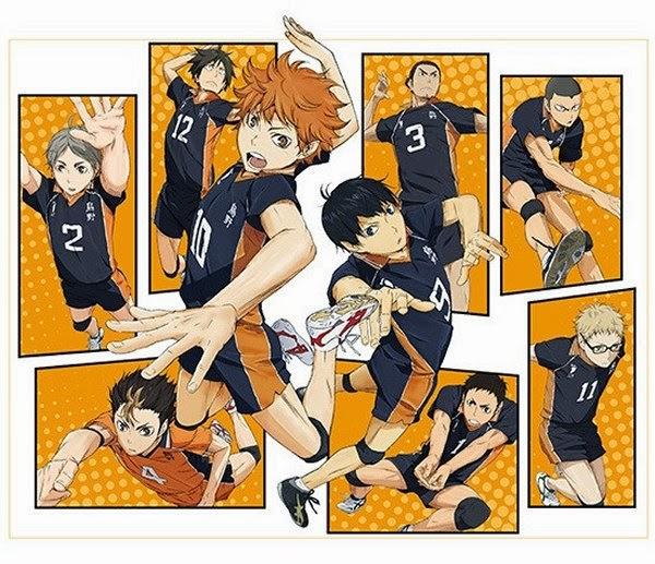 Resensi Anime Pilihan : Haikyuu!!