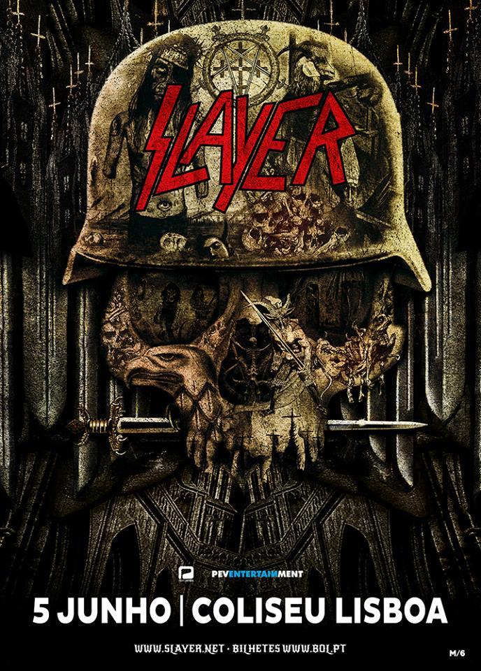 Slayer @ Coliseu dos Recreios