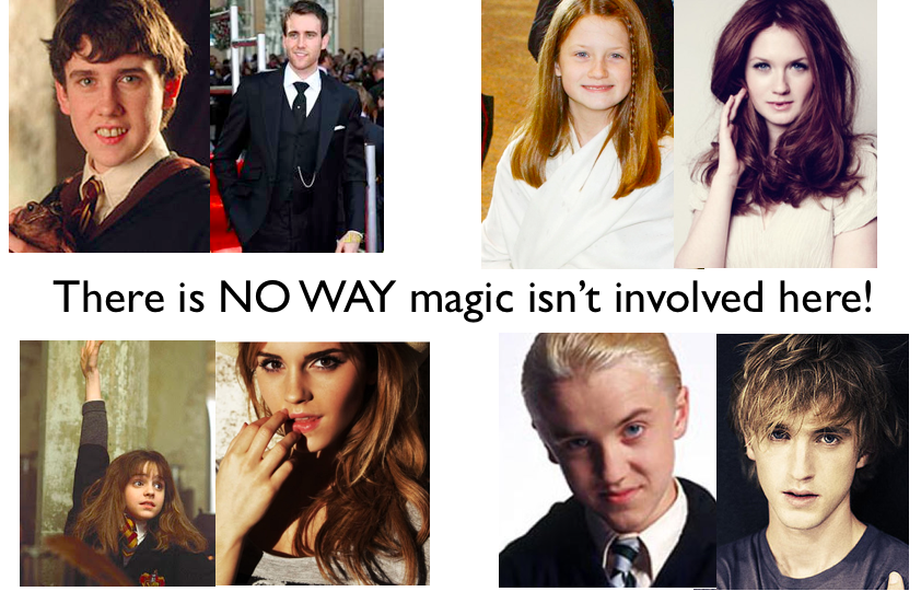 Magic In Real Life - There Is No Way Magic Isn't Involved Here! (Harry Potter Cast Members)
