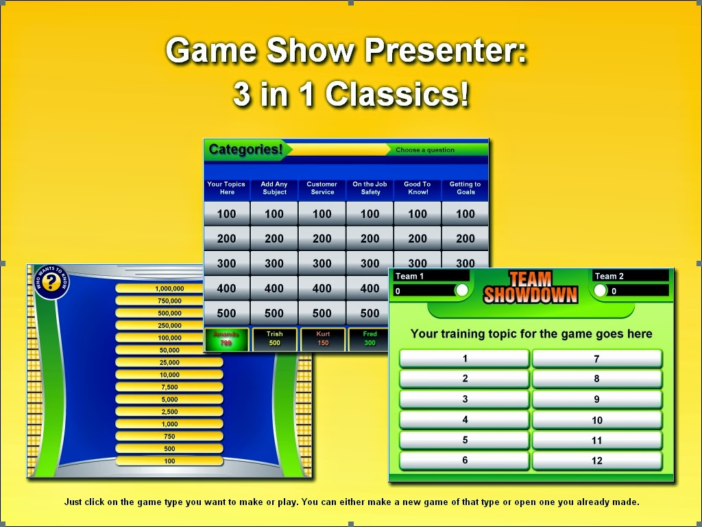 Powerpoint Jeopardy Game Template