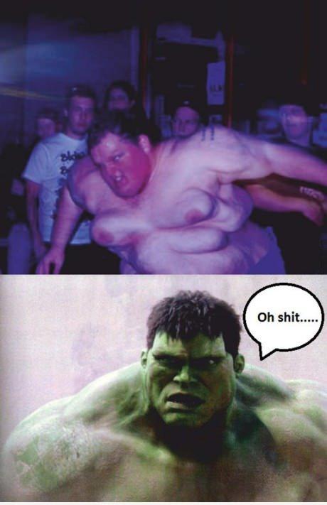 Funny Hulk Avengers