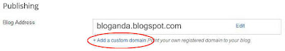 tambah domain blogspot, cara setting domain blogspot