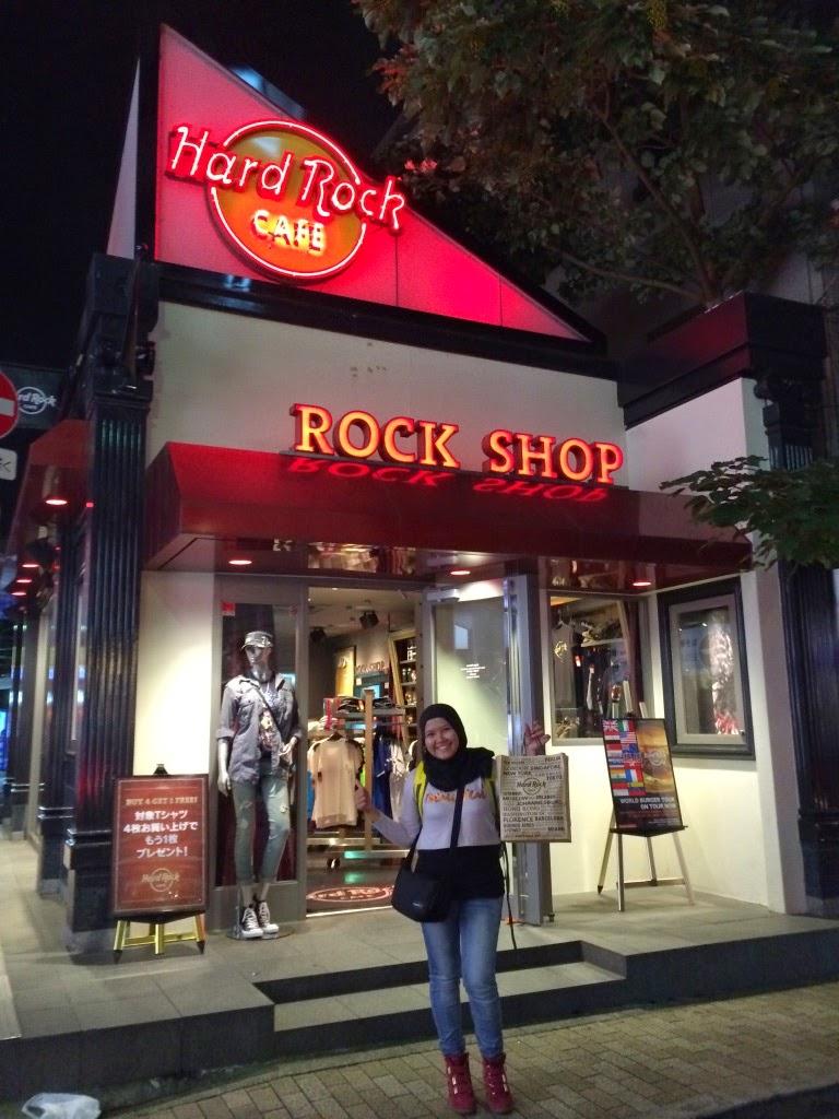 Hark Rock Cafe Tokyo