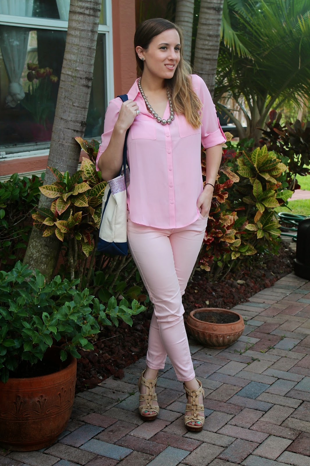 Delias, Express, blush, ALDO, Vineyard Vines, southern, prep, Miami fashion