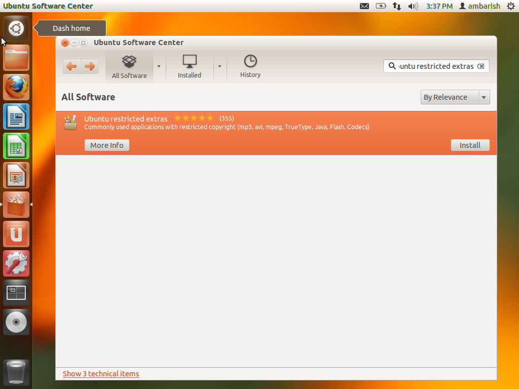 How to Install Ubuntu Restriced Extras