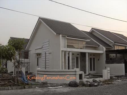 Contoh rumah 2 Taman Wisata Regency