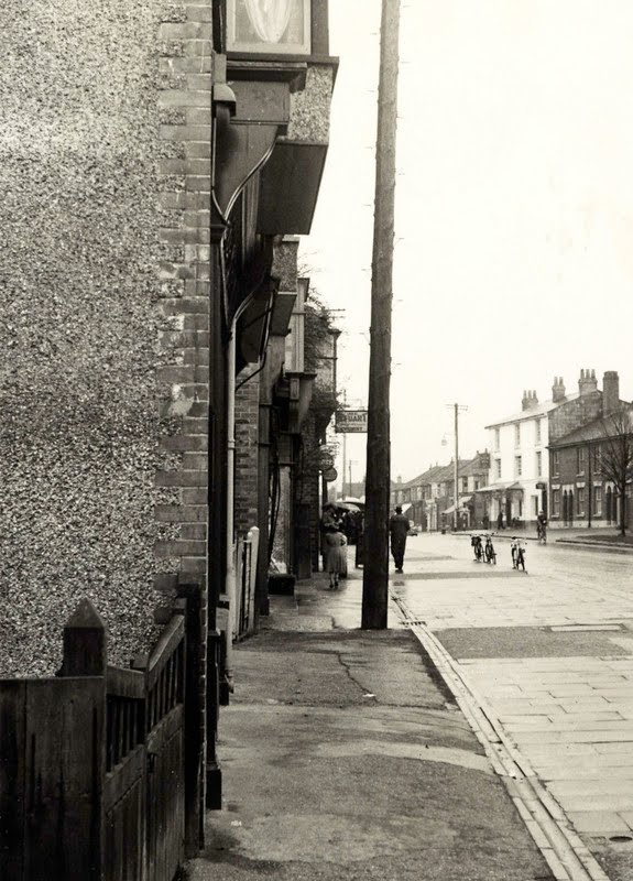 Barclays Bank in Drayton 1960s