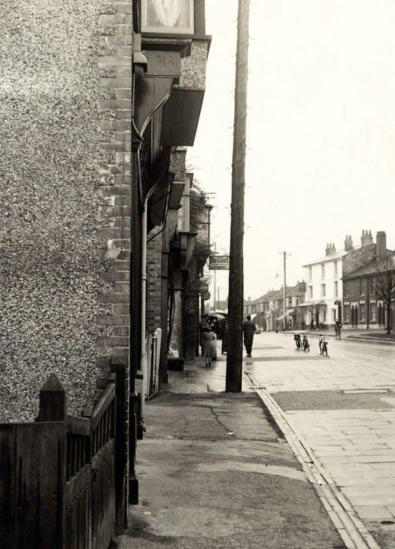 Barclays Bank in Drayton 1960s