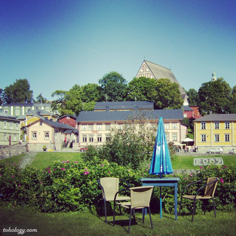 Porvoo (view from the old bridge)