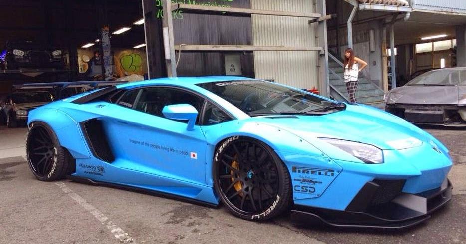 Tuning Liberty Walks Blaues Monster Nimmt Gestalt An Myauto24 Das Autoblog Im Internet Myauto24