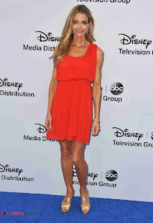 Denise Richards Pictures in tail Dress at Disney Media Networks International Upfronts  0003