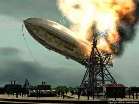 ledakan zepelin hidrogen hindenburg