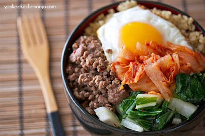 Spicy Korean Beef Bowl (Gluten-Free Bibimbap)