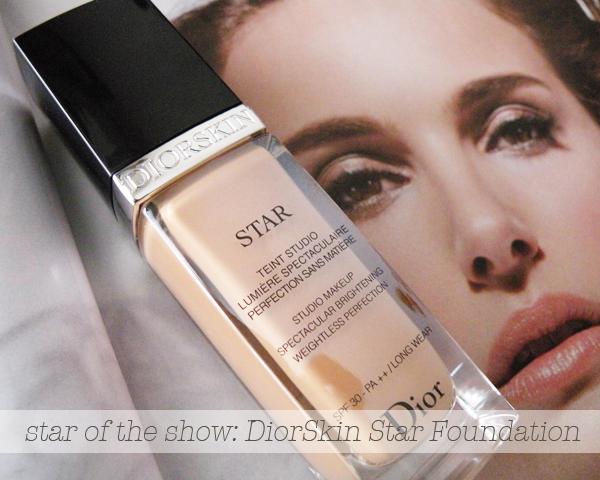 DiorSkin Star Foundation girllovesgloss.com