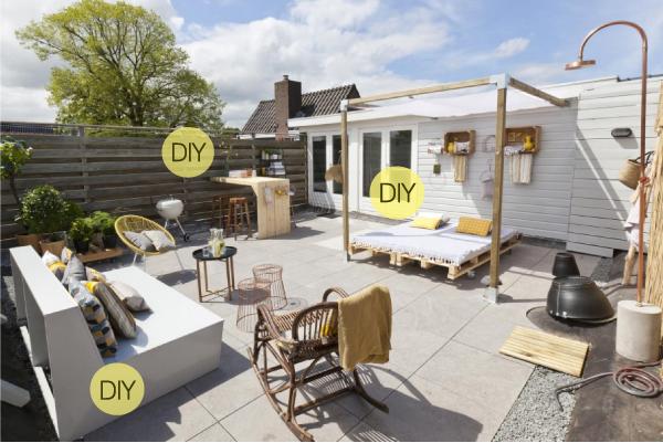 Idee fai da te per arredare lo spazio esterno blog di for Arredo terrazzo attico