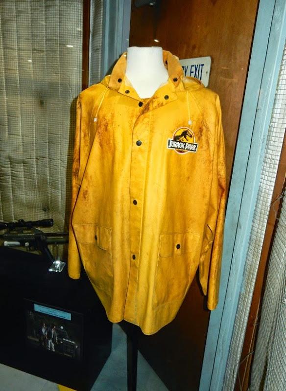 Bob Peck Jurassic Park raincoat