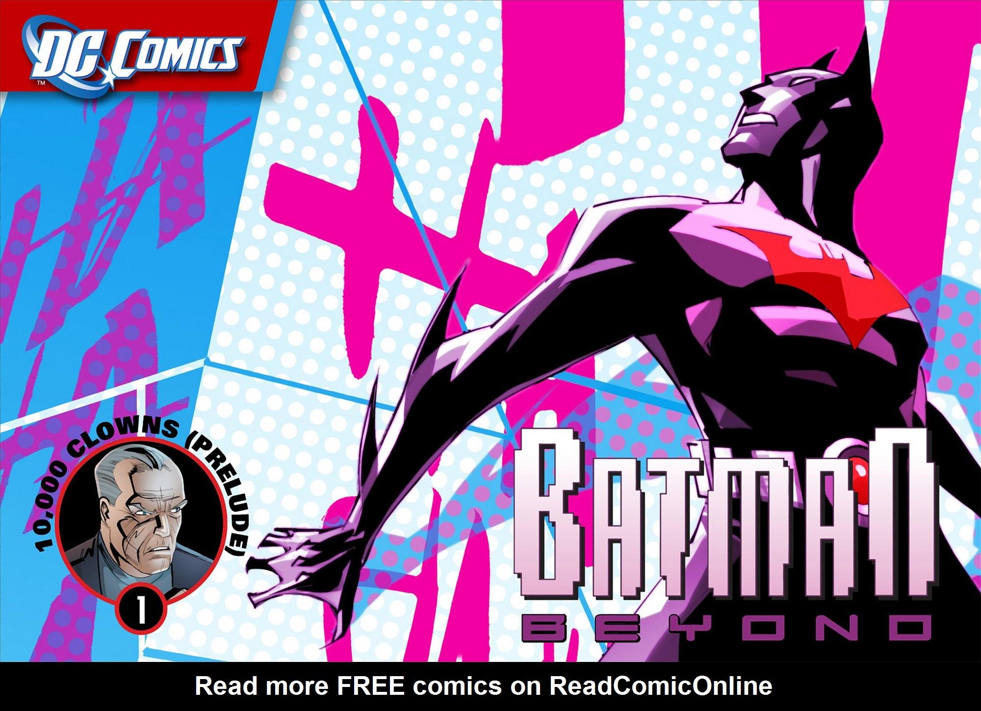 Batman Beyond (2012) Issue #1 #1 - English 1
