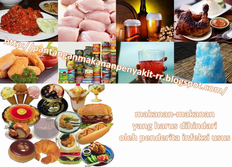 Pantangan Makanan Untuk Penderita Infeksi Usus